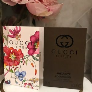 5 for $30, Gucci Fragrance Sample Duo